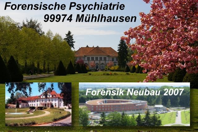 Oekumenische Forensische Hainisch Klinik in Mühlhausen / Thüringen
